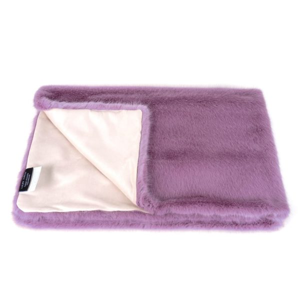 Heather Faux Fur Throw