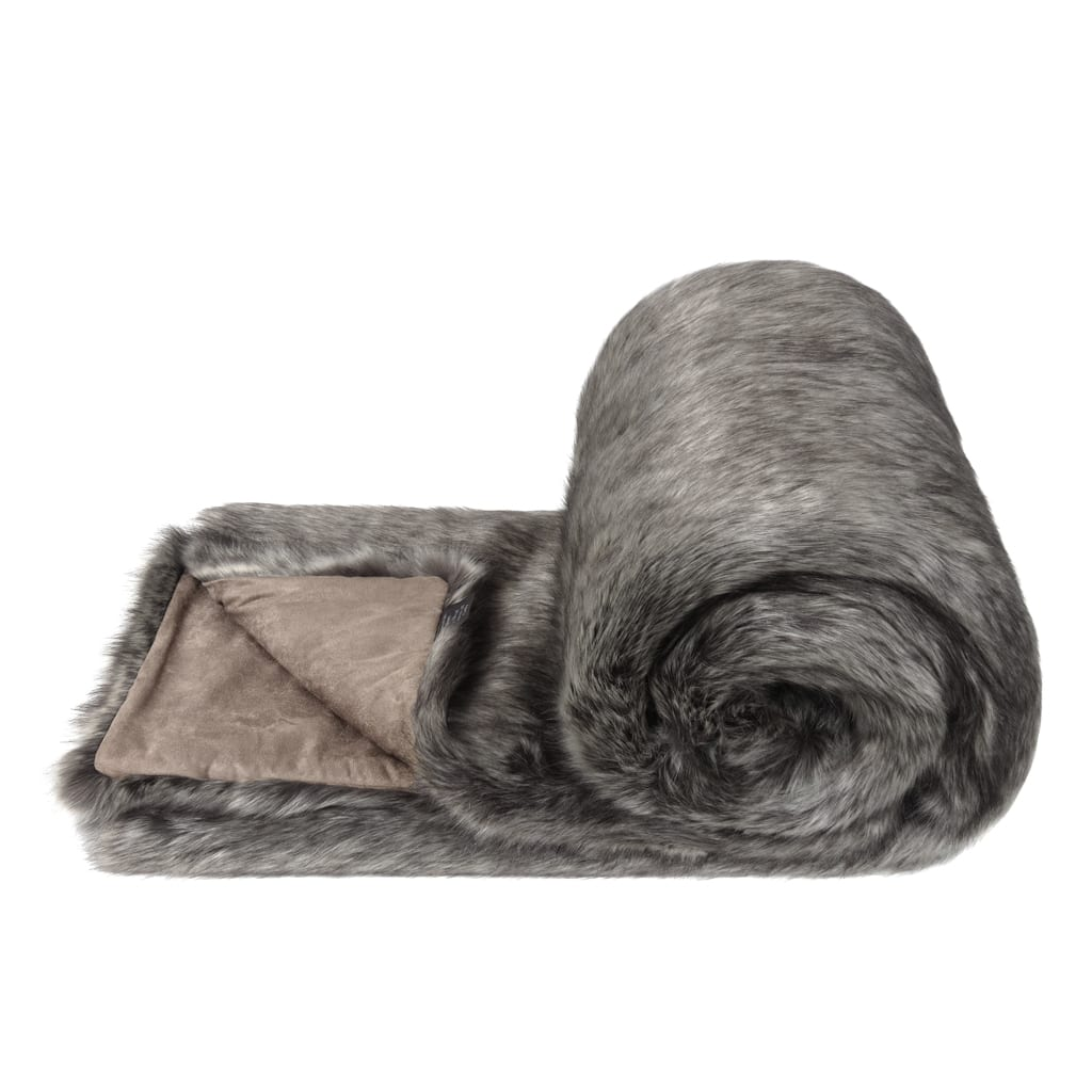 LADY GREY | FAUX FUR | BED RUNNER