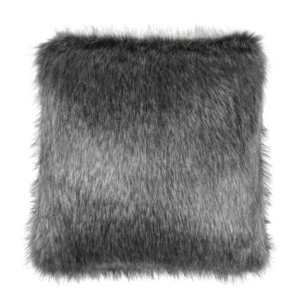LADY GREY | FAUX FUR | SQUARE CUSHION