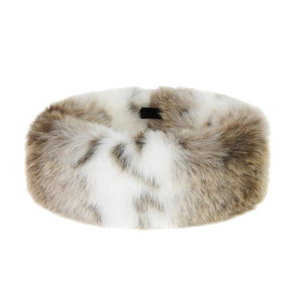Lynx Faux Fur Huff