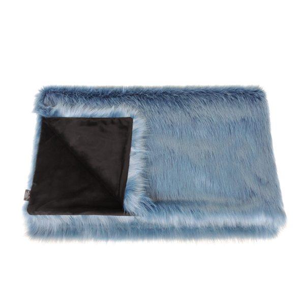 Marine Faux Fur Comforter