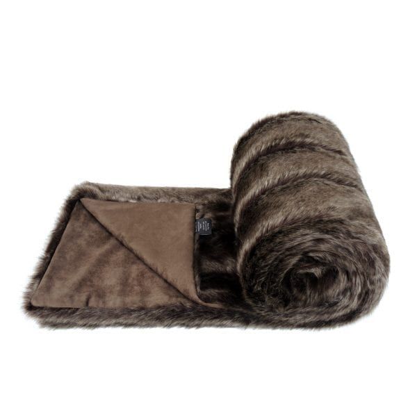 OREGON | FAUX FUR | BED RUNNER