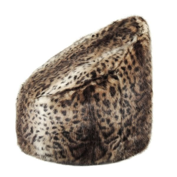 Ocelot Faux Fur Children's Beanbag