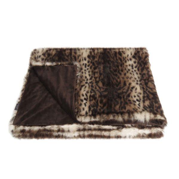 Ocelot Faux Fur Comforter