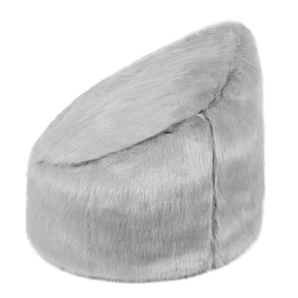 Opal Faux Fur Children's Beanbag