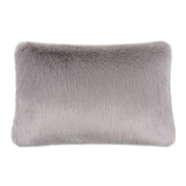 Opal Faux Fur Rectangular Cushion