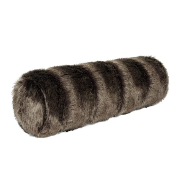 Oregon Faux Fur Bolster Cushion