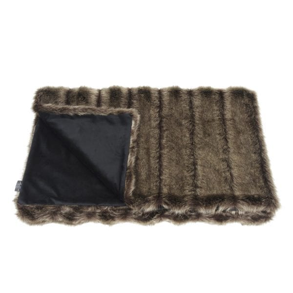 Oregon Faux Fur Comforter