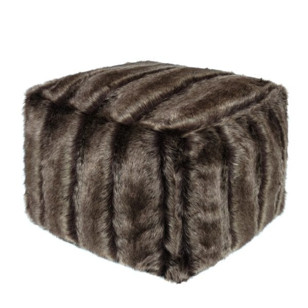 Oregon Faux Fur Cube