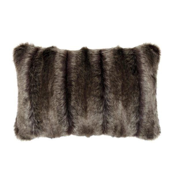Oregon Faux Fur Rectangular Cushion