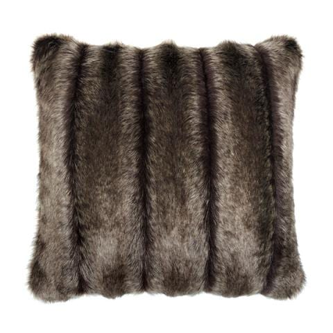 Oregon Faux Fur Square Cushion
