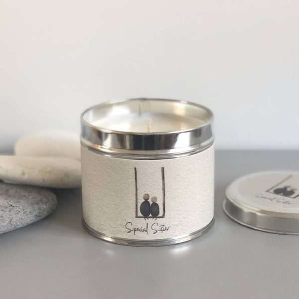 Pebble People Tin Candle - 'Special Sister'