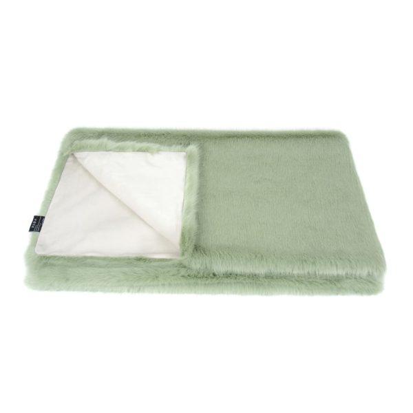 Pistachio Faux Fur Comforter
