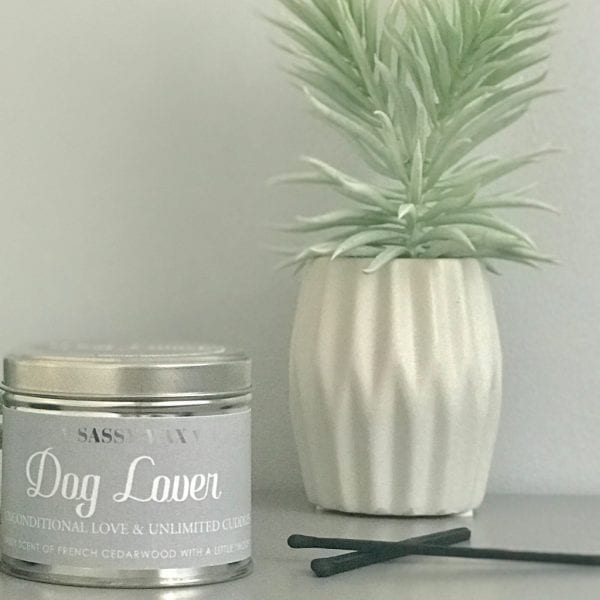 Soy Wax Tin Candle - 'Dog Lover'