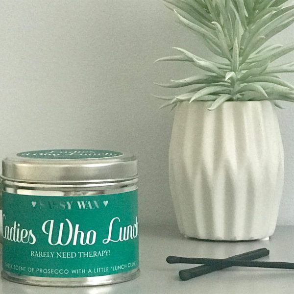 Soy Wax Tin Candle - 'Ladies Who Lunch'
