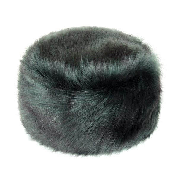 Spruce Faux Fur Box Hat