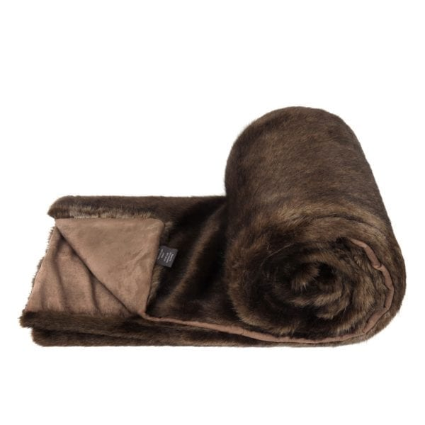 Treacle Faux Fur Bed Runner