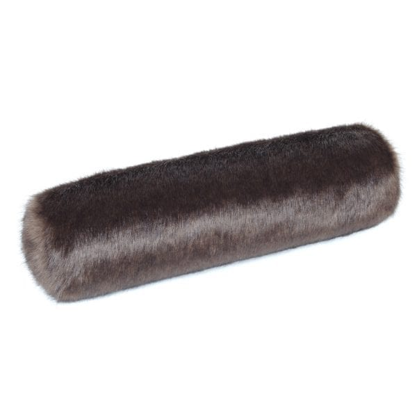Treacle Faux Fur Bolster Cushion