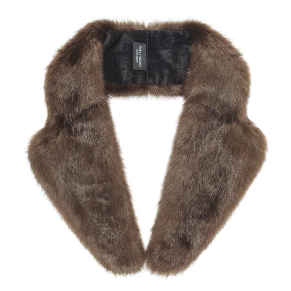 Treacle Faux Fur Lapel Collar
