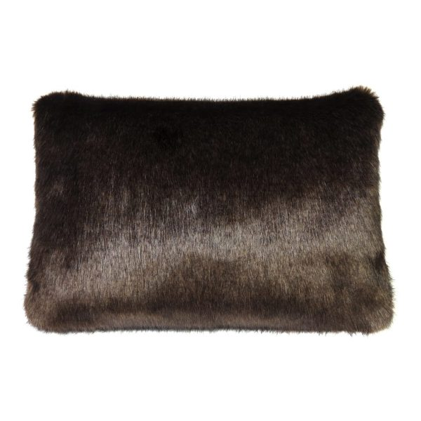 Treacle Faux Fur Rectangular Cushion