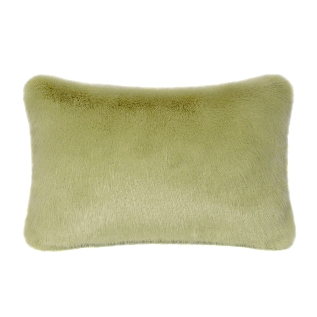 Willow Faux Fur Rectangular Cushion