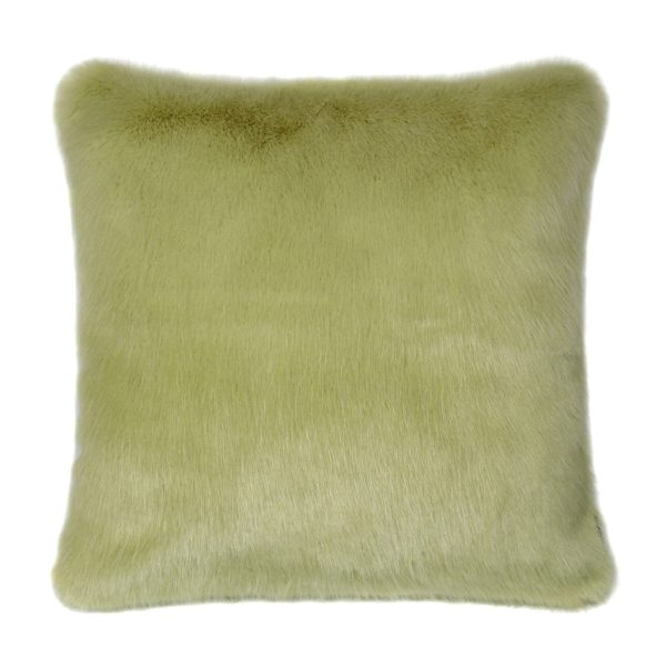 Willow Faux Fur Square Cushion