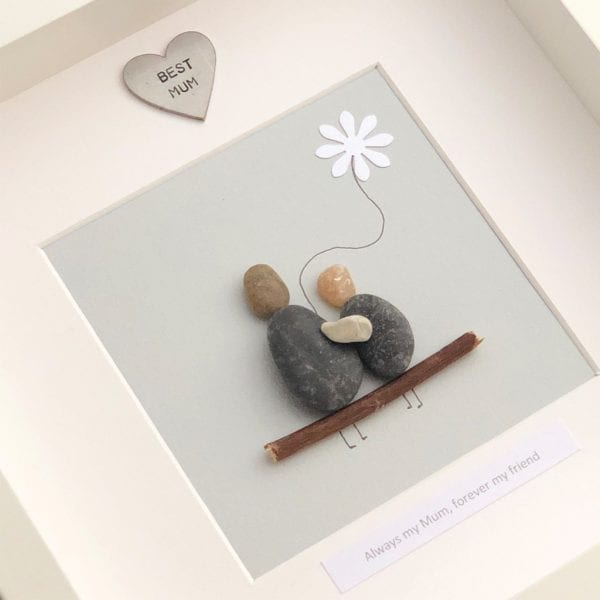 'Always My Mum Forever My Friend' Pebble Picture