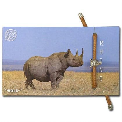 B-O-L-D Rhinoceros Bracelet