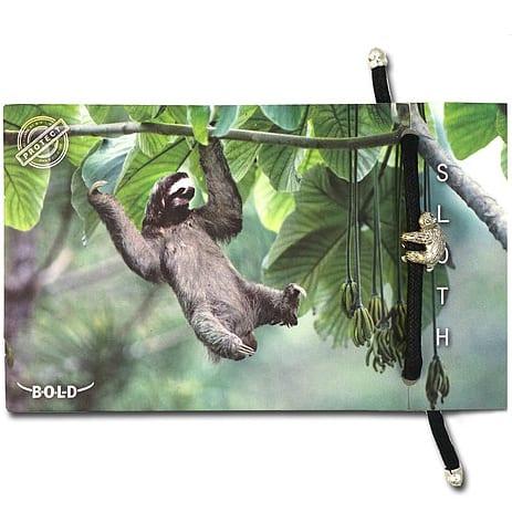 B-O-L-D Sloth Bracelet