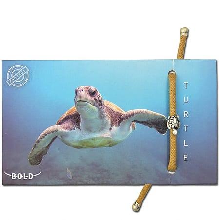 B-O-L-D Turtle Bracelet
