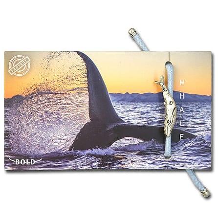 B-O-L-D Whale Bracelet