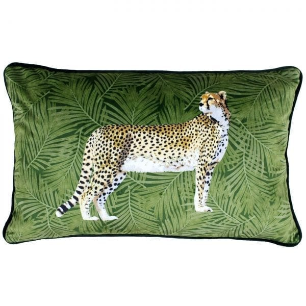 Cheetah Forest Cushion