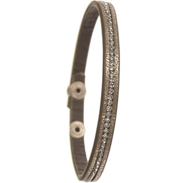 Solo Sparklet Golden Khaki Bracelet