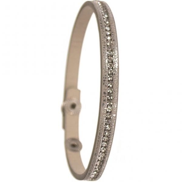 Solo Sparklet Silver Bracelet