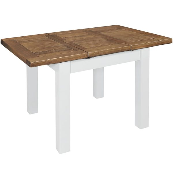 Gresford White Ext Table 900-1.3m