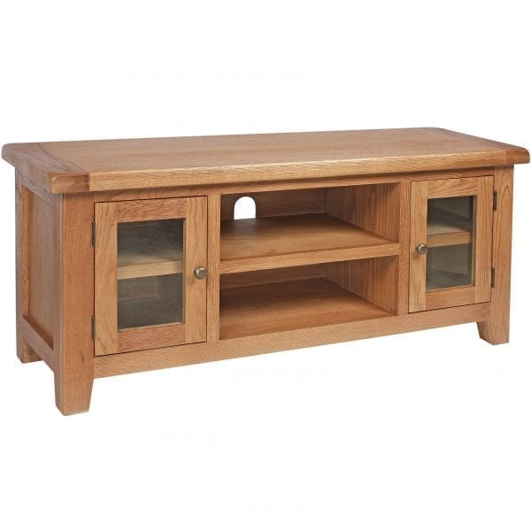 Harvard Oak 125cm Tv Unit
