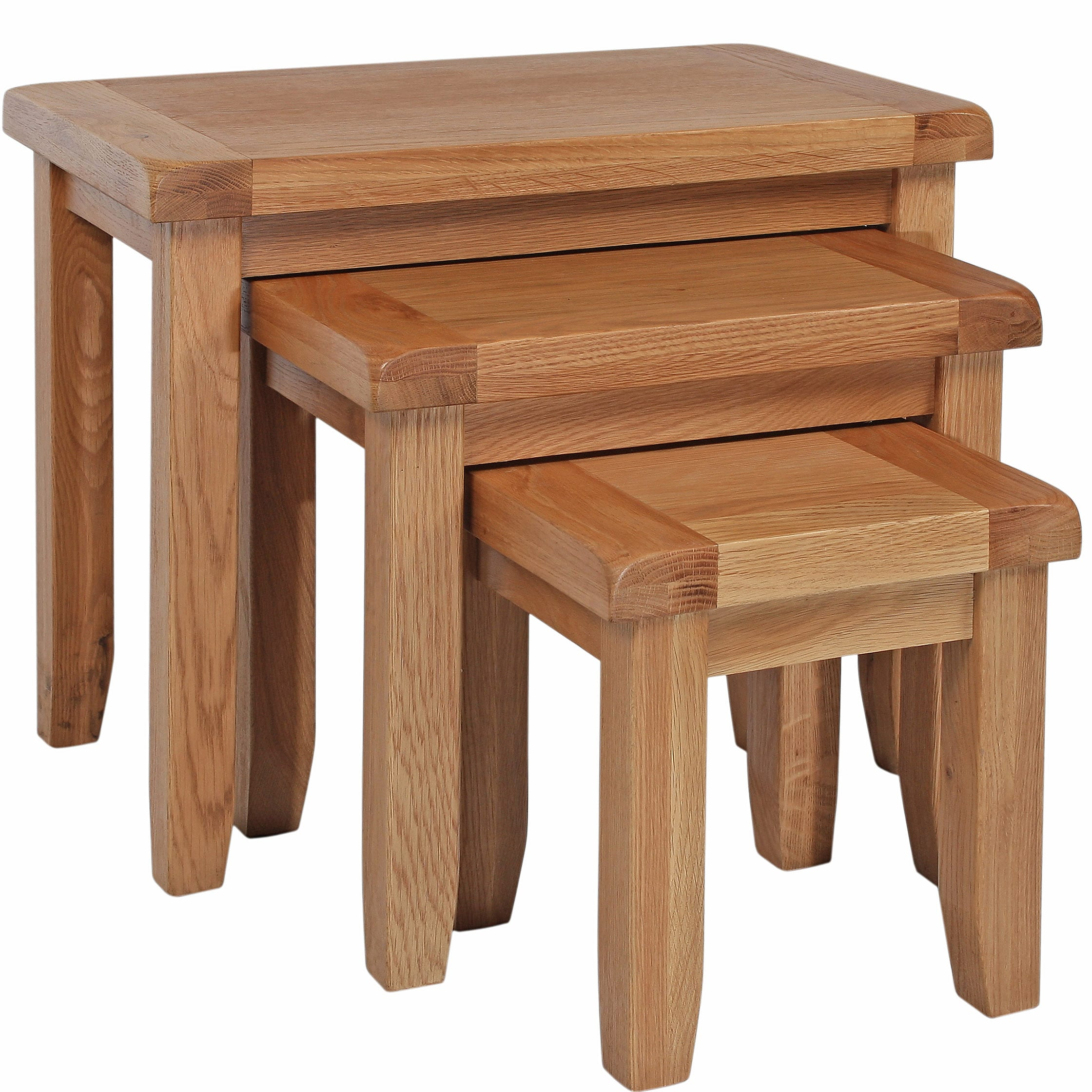 Harvard Oak Nest Of Tables