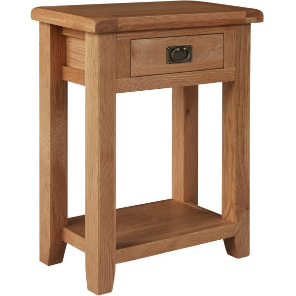 Harvard Oak Small Console Table