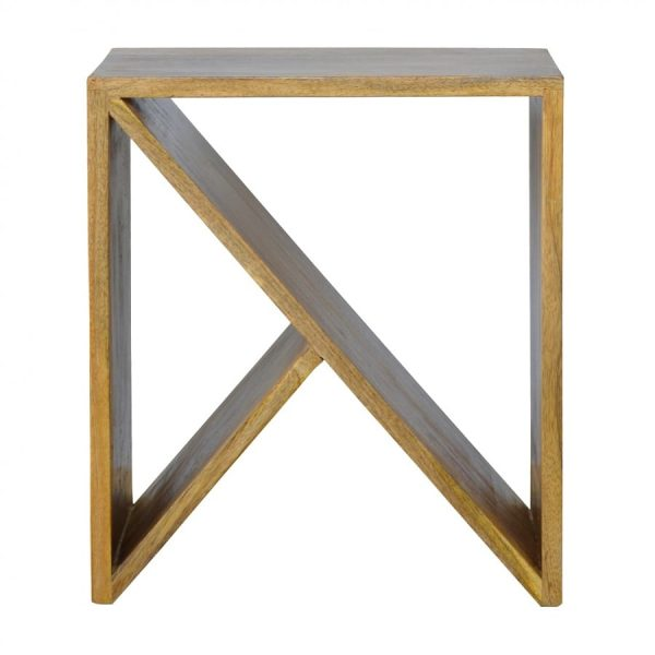 Mango Hill Geometric Library Side Table