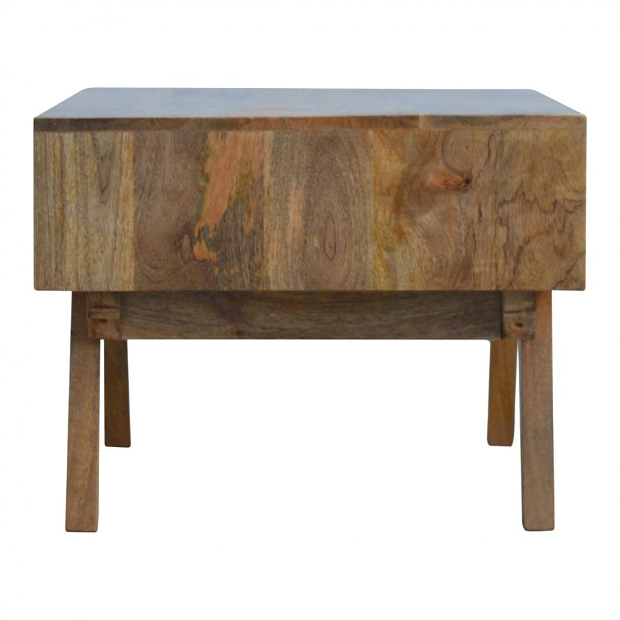 Mango Hill Two Tone Hand Painted Hole Cut Out Coffee Table