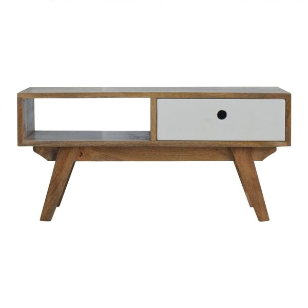 Mango Hill Two Tone Hand Painted Hole Cut Out Media Unit