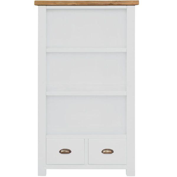 Gresford White Bookcase 900 x 1500