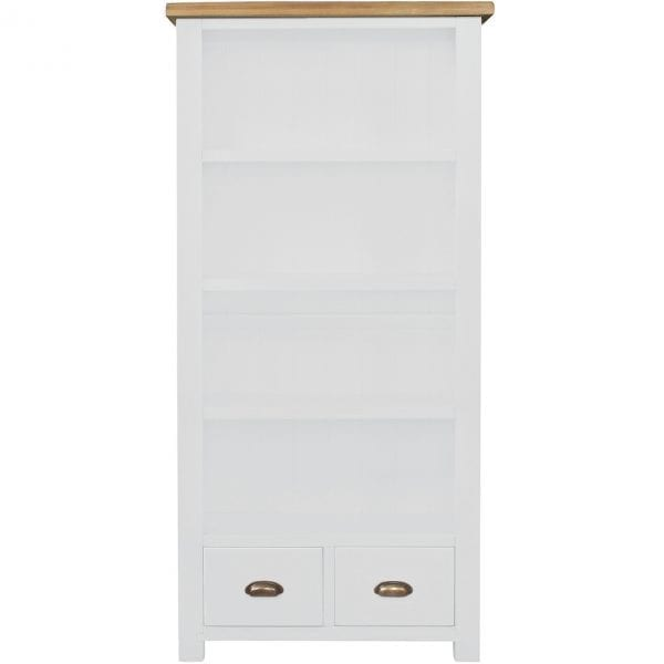 Gresford White Bookcase 900 x 1800
