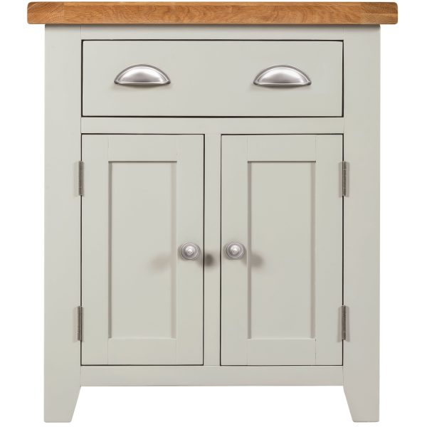 Willow Grey Small Sideboard 2 Doors 1 Drawer