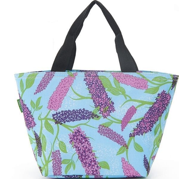 Blue Buddleia Flower Lunch Bag