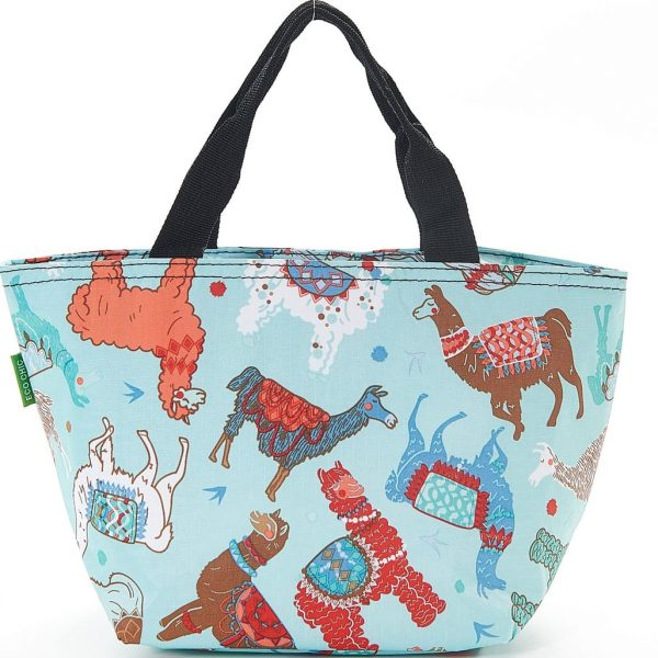 Blue Llama Lunch Bag