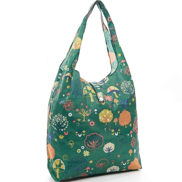 Green Forest Foldaway Shopper