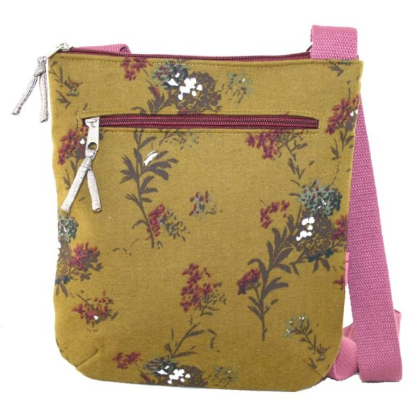 Mustard Flower Messenger Bag