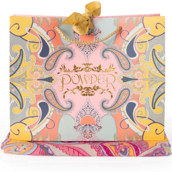 Paisley Print Poncho