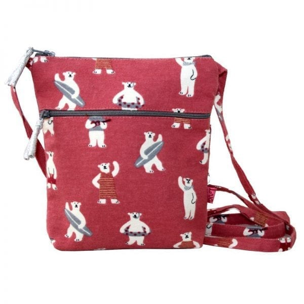 Pink Bears | Cross Body Pouch Purse